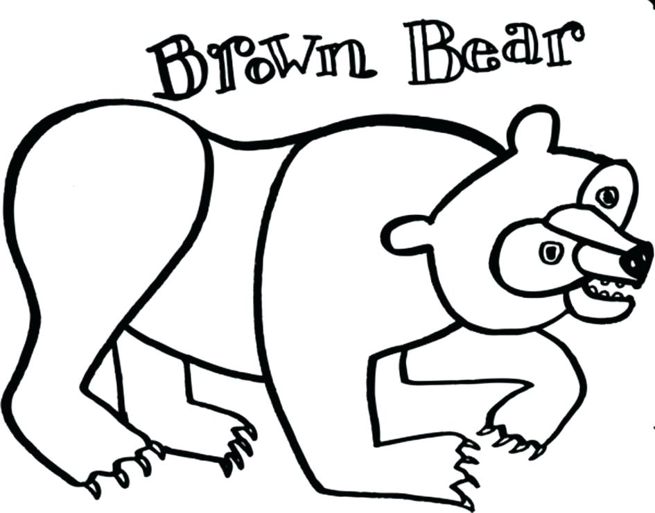945x740 Teddy Bear Color Page Coloring Pages Of Bears Brown