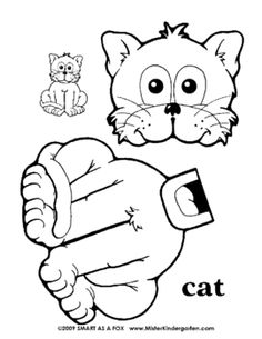 236x305 Bunny Paper Bag Puppet Pattern Coloring Pages Including
