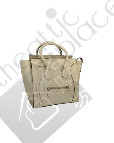 400x500 Celine 165213 Sand Mini Luggage Document Tote