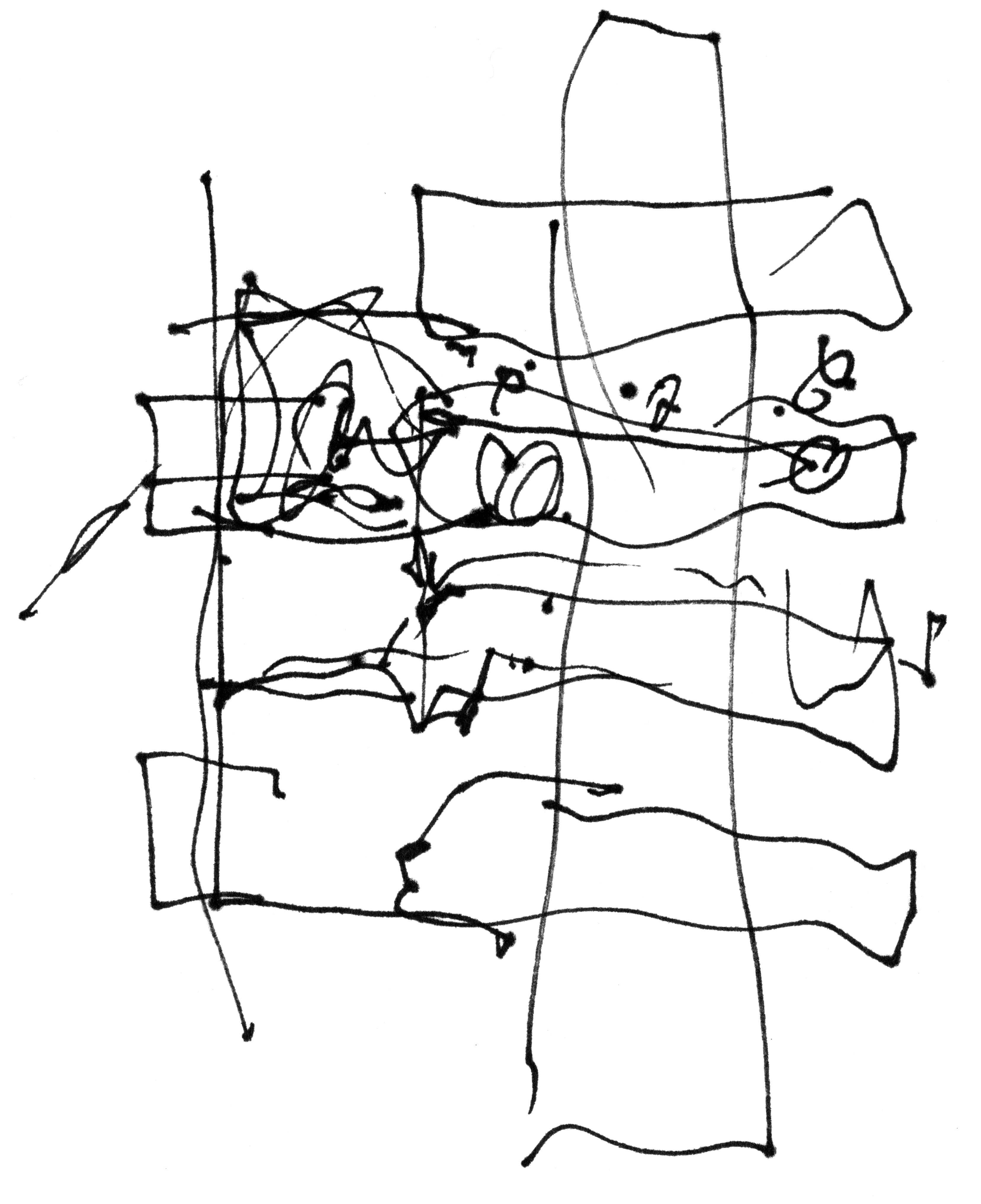 3313x4064 Frank Gehry Treehouse Sketch