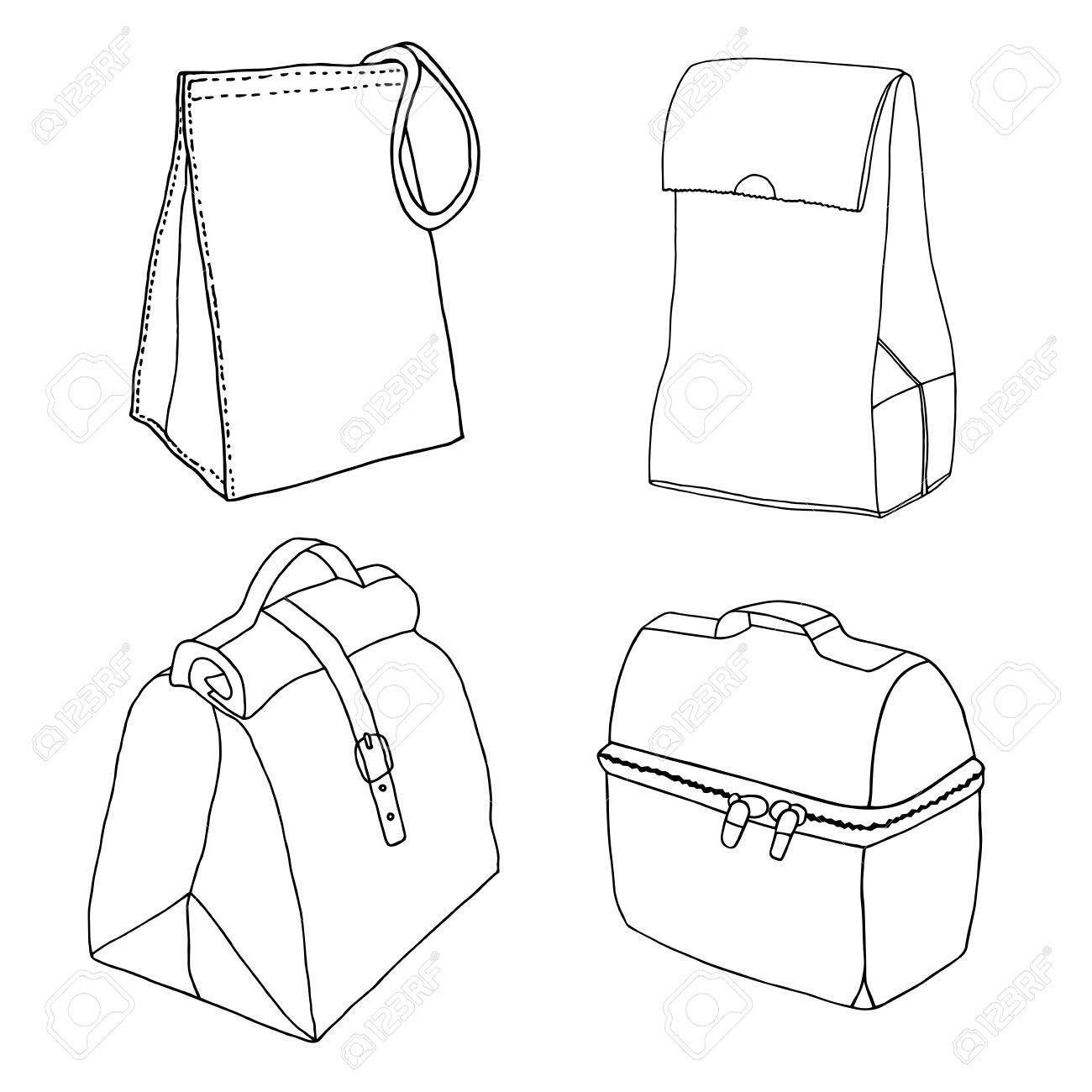 1300x1300 Lunch Bag Collection. Easy Lunch Box Concepts. Various Food Bags
