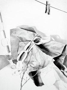 225x300 Brown Paper Bag Drawings Fine Art America