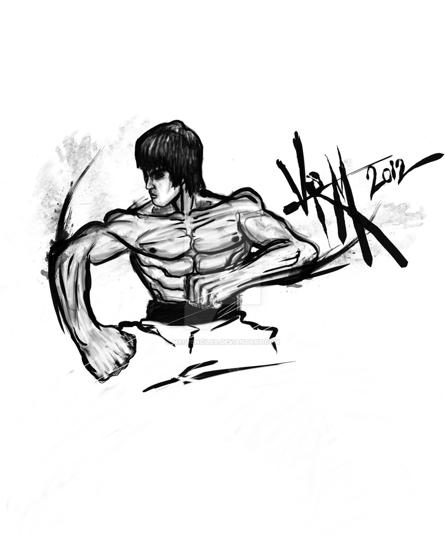 900x1080 Bruce Lee Fist Of Fury By Madpenciler