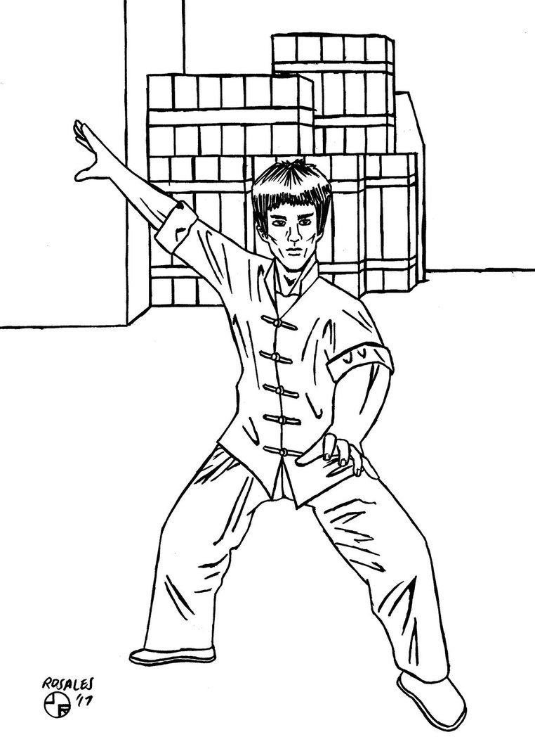 762x1048 Bruce Lee Return Of The Dragon Inks By Jojorozian