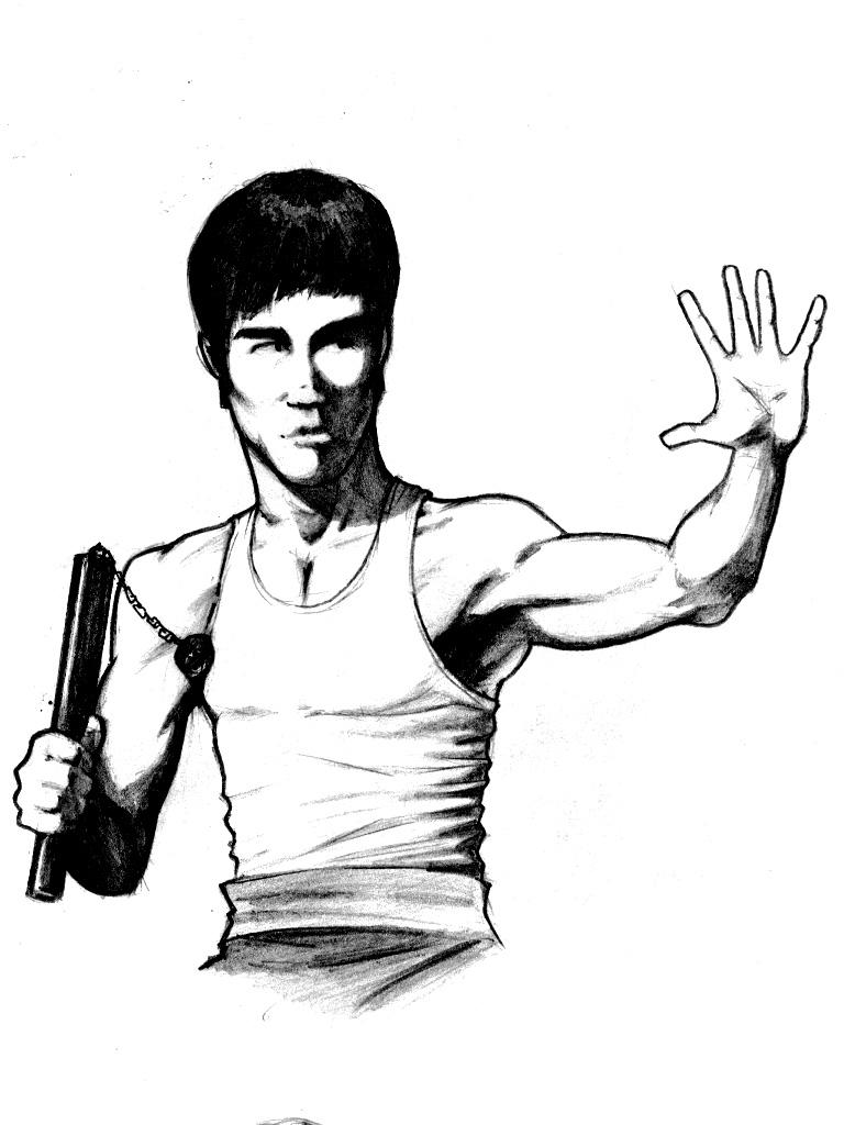 768x1024 Bruce Lee By Pino44io
