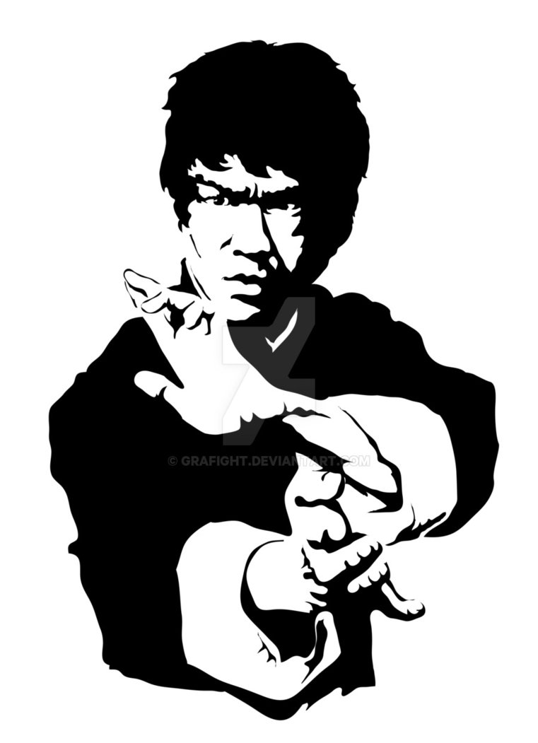 761x1051 Bruce Lee Print By Grafight