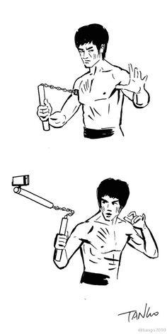 236x472 Bruce Lee El Blog De Bruce Lee. Caricaturas De Bruce Lee