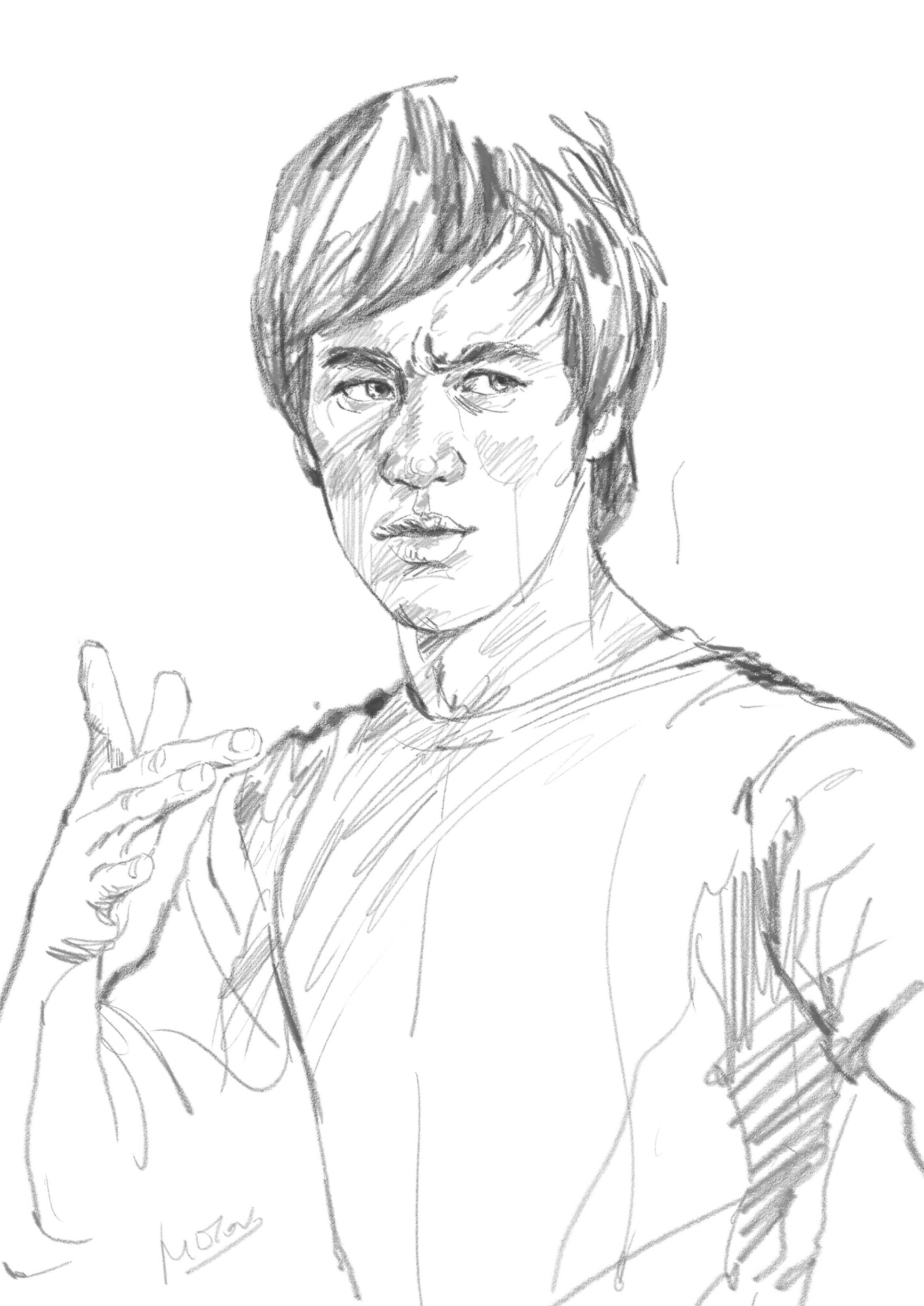 2339x3307 Sketch By Milton Wong Milton's Portraits Amp Drawings