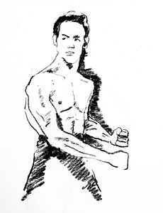 230x300 Bruce Lee Drawings Fine Art America
