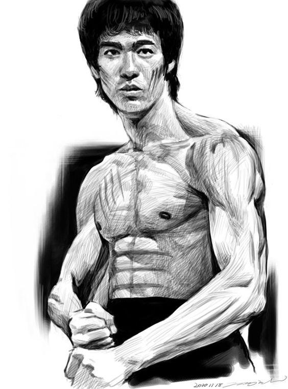 564x763 Bruce Lee Art Bruce Pics Bruce Lee Art And Bruce Lee