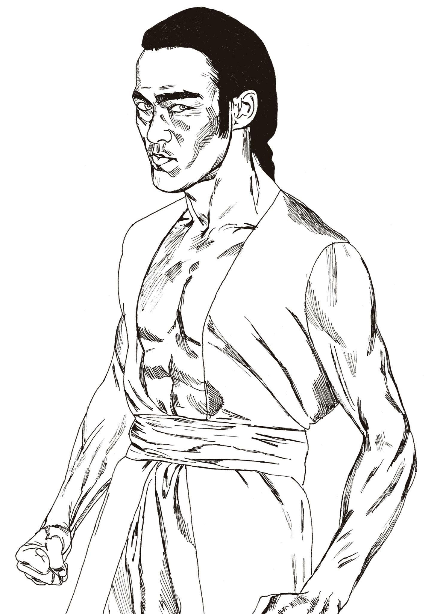 1490x2048 Bruce Lee Art Luis Dragon Lee Santos Bruce Lee Art