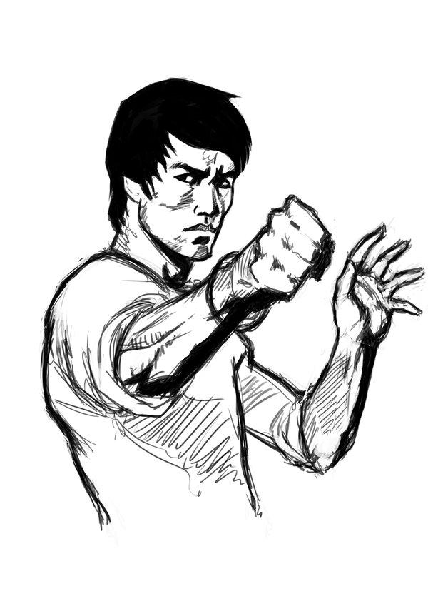 600x849 Bruce Lee By Diegovila