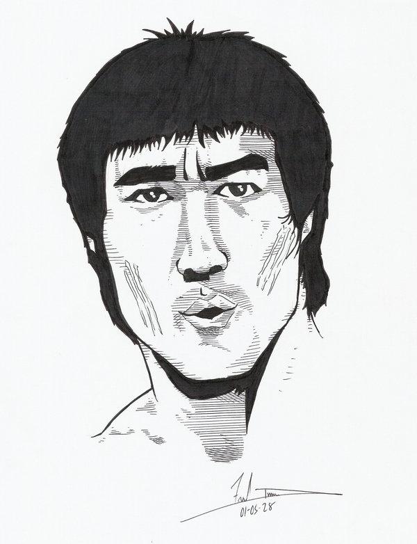 600x782 Bruce Lee By Dredfunn