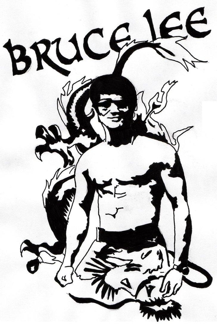 728x1096 Bruce Lee By Skatefr3d