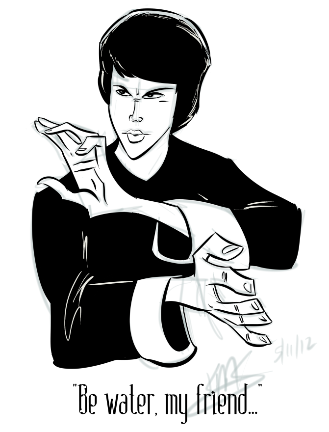 671x880 Bruce Lee By Kms007