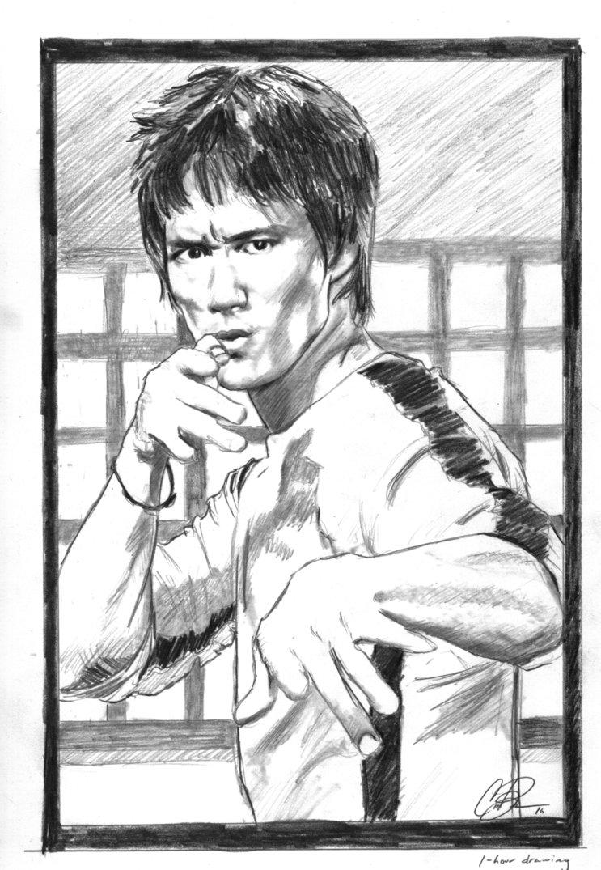 743x1075 Bruce Lee Sketch By Xgrunt