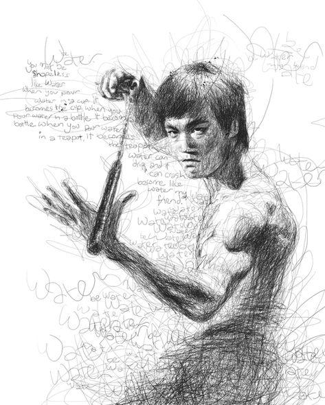 473x590 Drunken Master Jackie Chan Done In Ball Point Illustration Movie