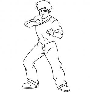 302x302 How To Draw How To Draw Jackie Chan