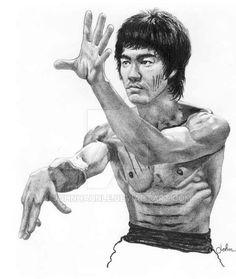 236x279 Sketch Card Of Bruce Lee 365 Sketch Card Challenge
