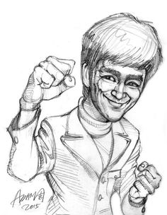 236x304 Bruce Lee 14 Bruce Lee Drawings By Milton Wong