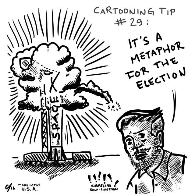 640x640 Editorial Cartoon Another Cartooning Tip Daily Bruin
