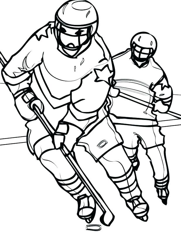 618x800 Nhl Coloring Pages Young Girl Plays Hockey Coloring Page Boston