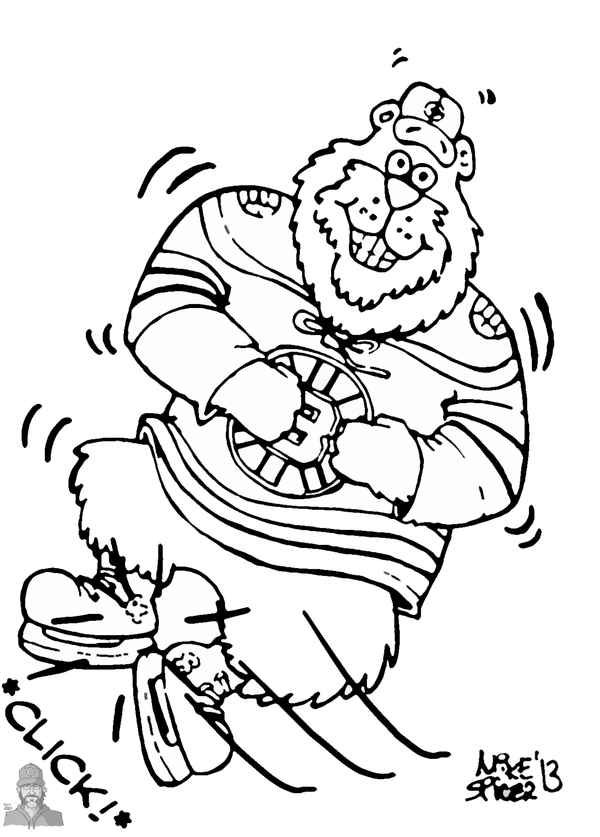 600x837 Boston Bruins Coloring Pages Coloring Page For Kids