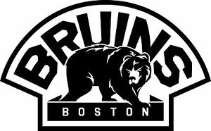 300x186 Boston Bruins Decal ~ Window Wall Vinyl Car Cornhole Sticker