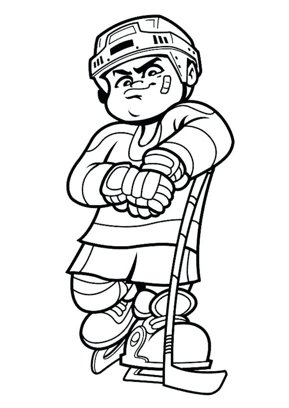 580x818 Hockey Coloring Pages Bruins