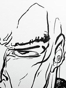 225x300 Brush Stroke Drawings Fine Art America