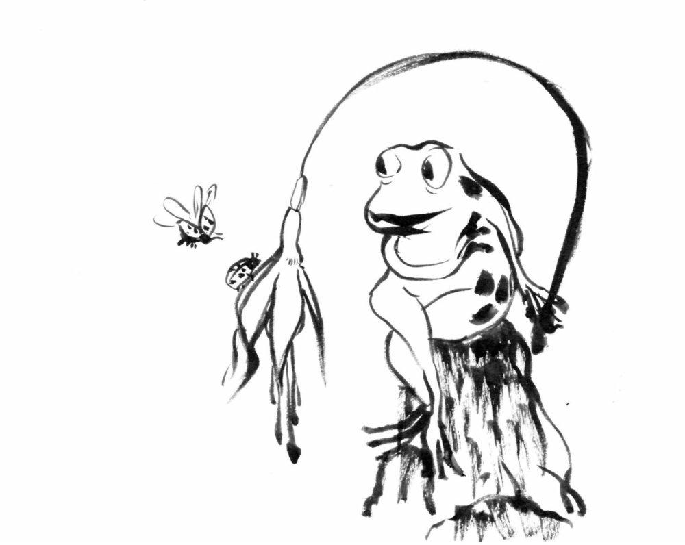 1000x796 Sketchbook Frog Characters