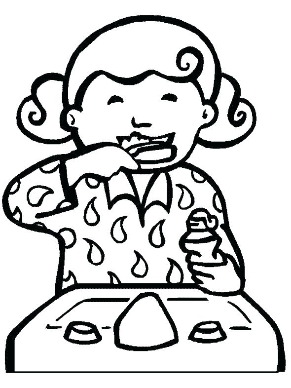 590x786 Dentist Coloring Pages Dental Coloring Pages Dental Coloring Pages