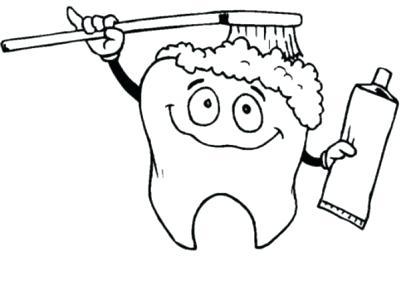 401x300 Teeth Coloring Page Medium Size Of Coloring Looking Teeth Coloring