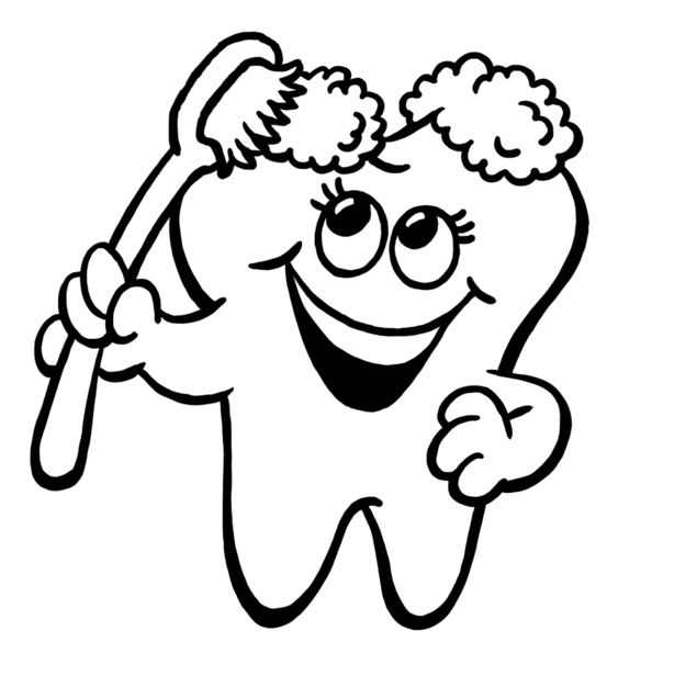 635x626 Tooth Image Of Brush Teeth Clipart 0 Clip Art Is Like Free 2