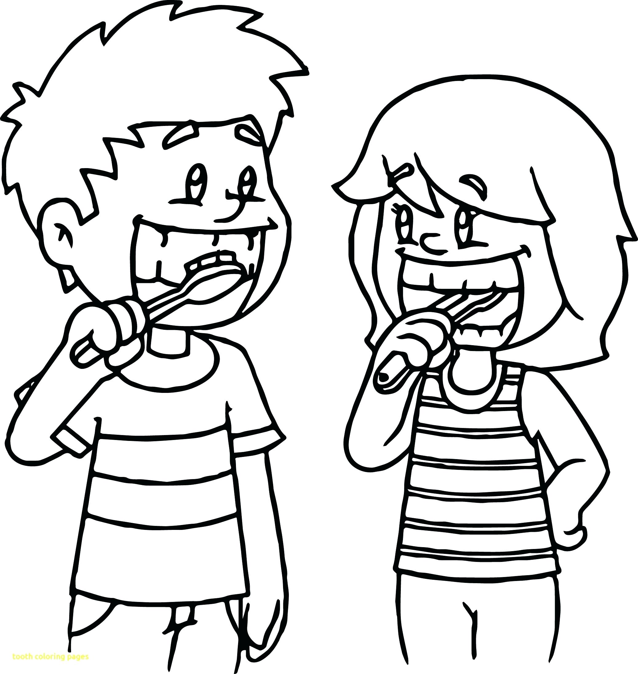 2074x2189 Coloring Brushing Teeth Coloring Page Dental Cartoon Super Tooth