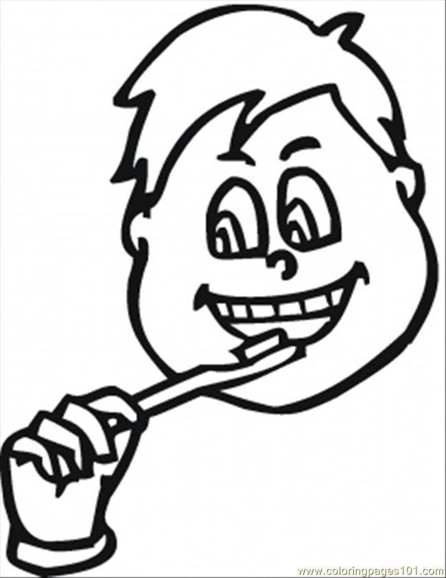 Brush Teeth Drawing at GetDrawings.com | Free for personal use Brush ...