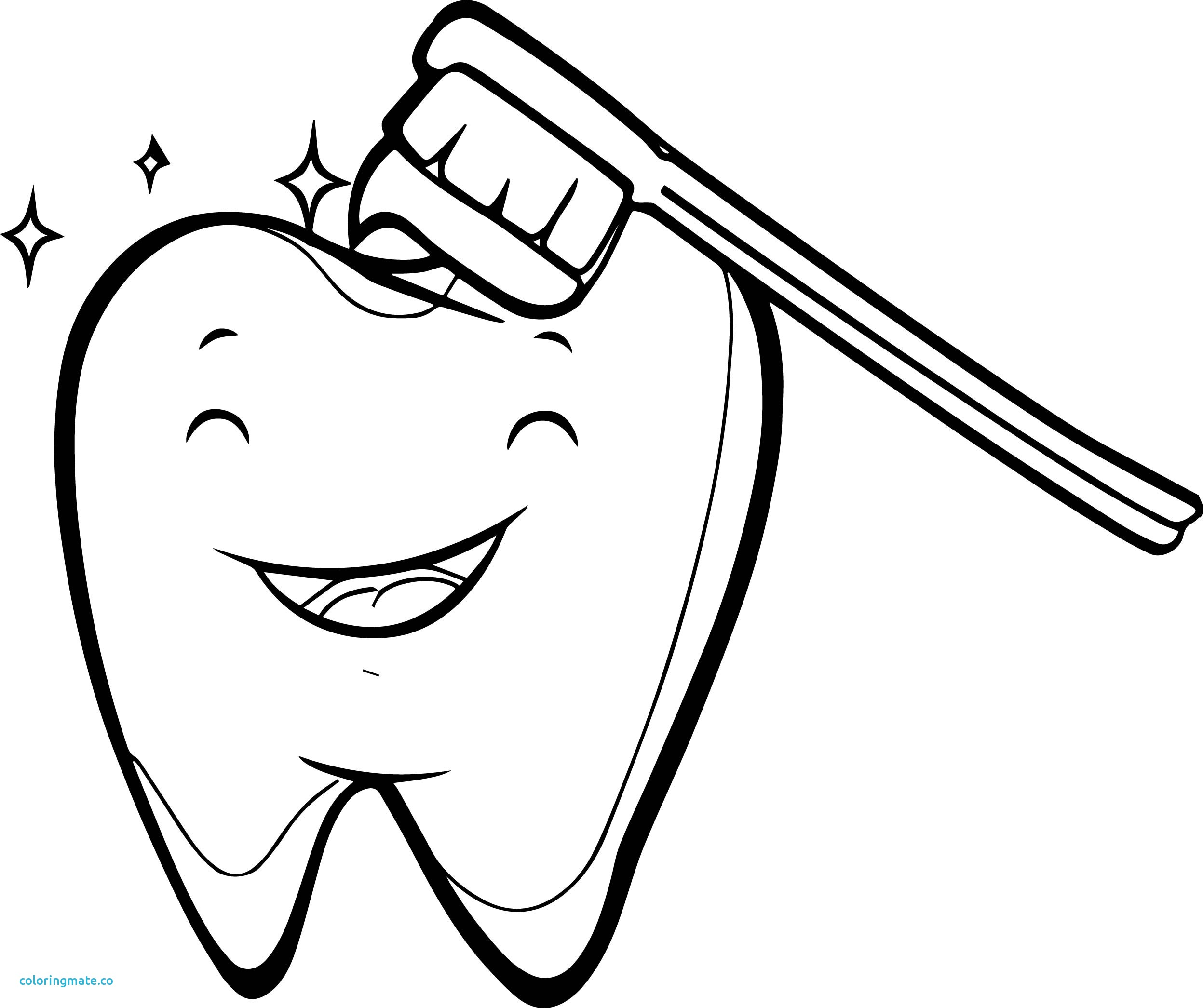 2495x2091 Coloring Halloween Dental Coloring Page Brush Your Teeth