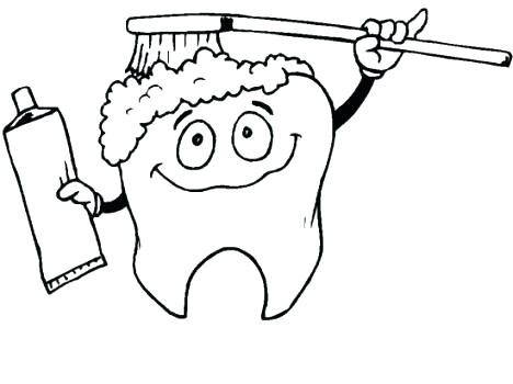 468x350 Tooth Coloring Pages 16040