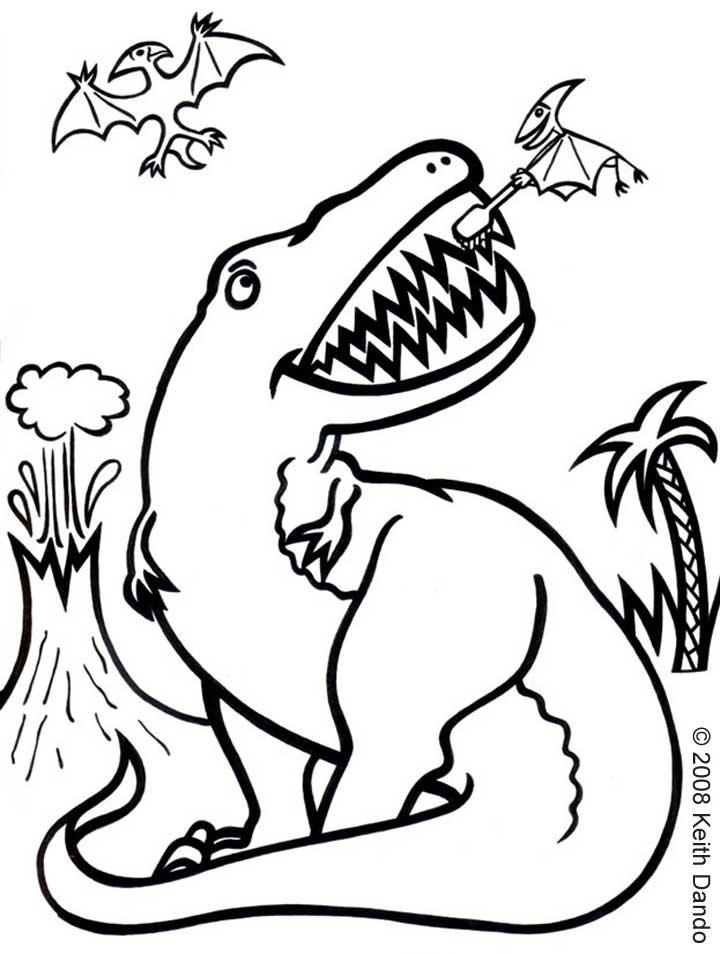 720x954 Dinosaur Likes Cleaning His Teeth Rooftop Post Printables