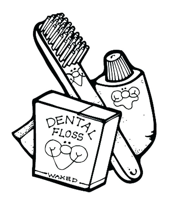 600x719 Teeth Coloring Sheets And Brushing His Teeth Coloring Pages Tooth