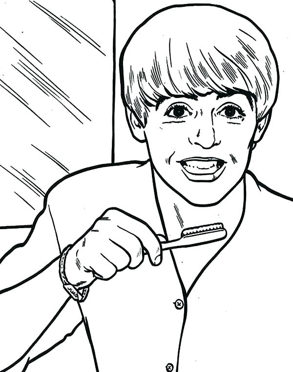 600x763 Tooth Coloring Sheets Tooth Coloring Pages Together With Tooth