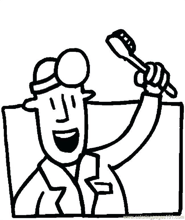 650x772 Brush Your Teeth Coloring Sheets Best Dental Pages Images