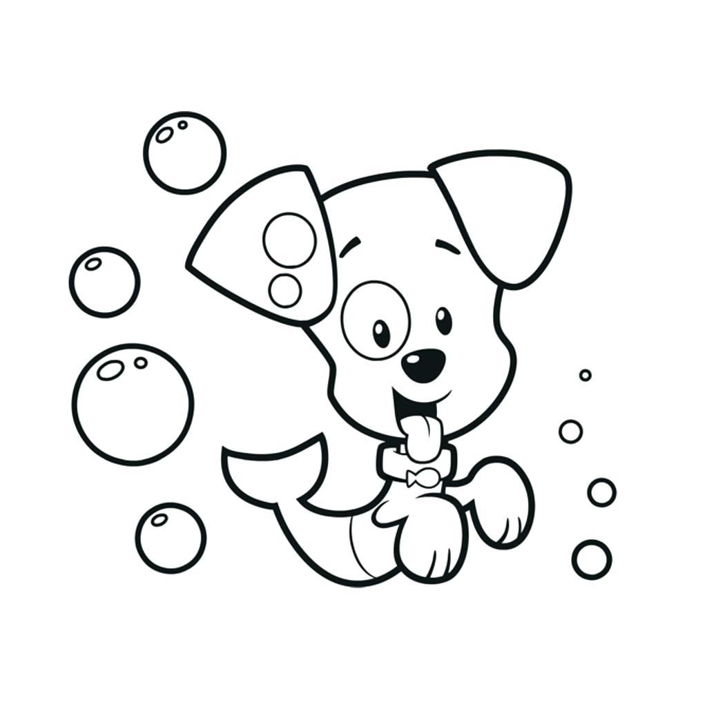1024x1024 Coloring Bubbles Coloring Page