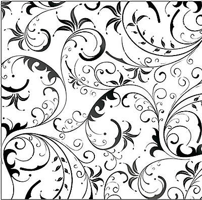 400x396 Bazaar Noir Sorcery Black Foil Embossed 12x12 Scrapbooking (2pc