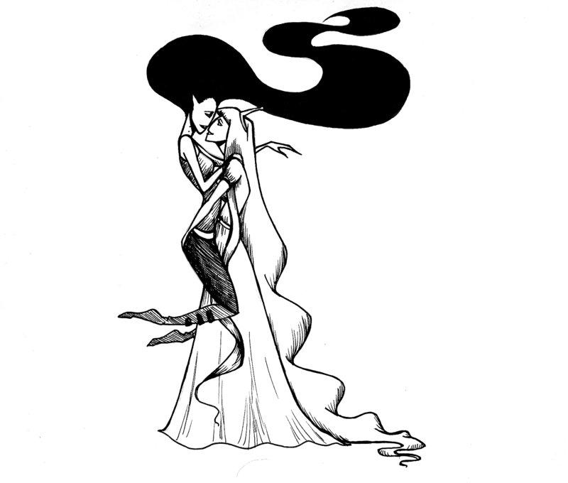 800x680 Marceline And Bubblegum By Whutnot