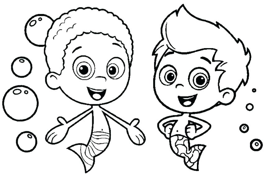Bubble Guppies Drawing