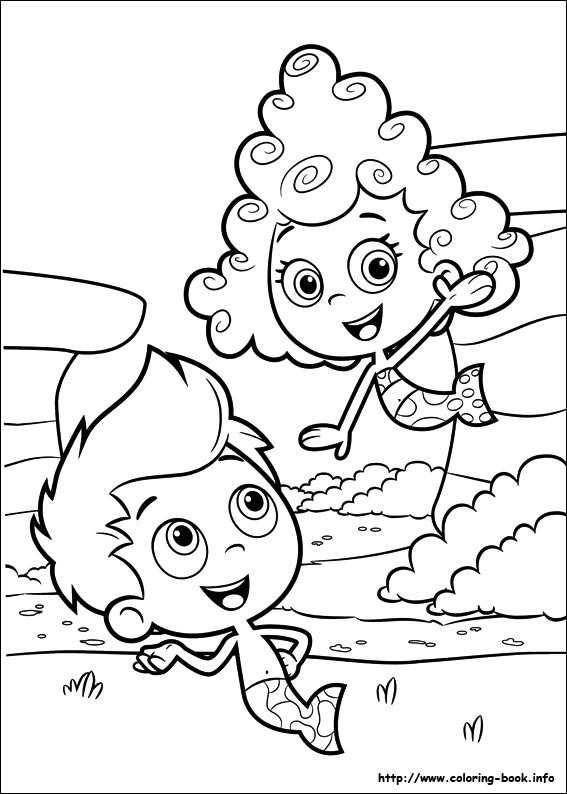567x794 Bubble Guppies Coloring Picture Coloring And Activities