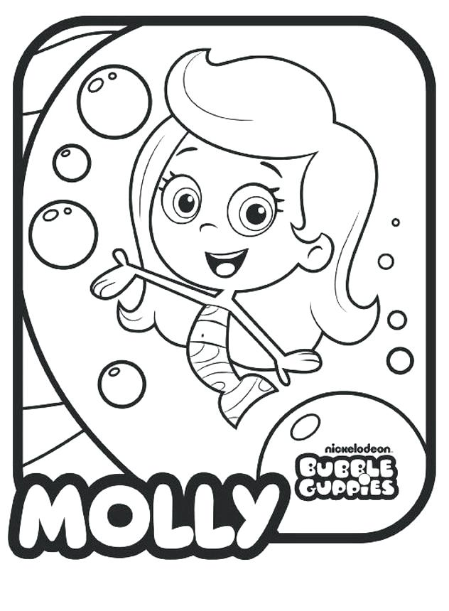 632x860 Bubble Guppy Coloring Pages Printable Bubble Guppies Coloring