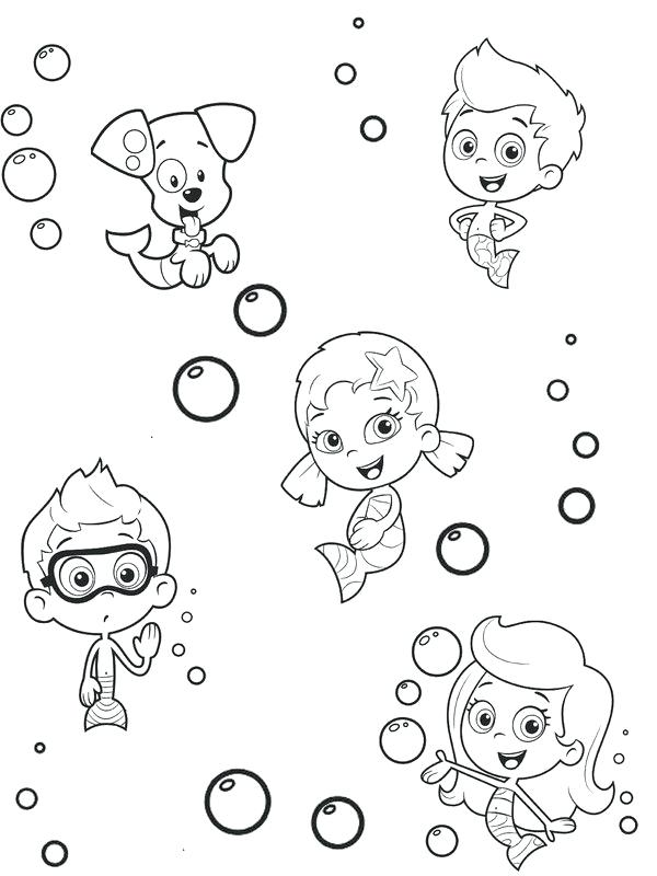 600x800 Bubbles Coloring Pages Synthesis.site