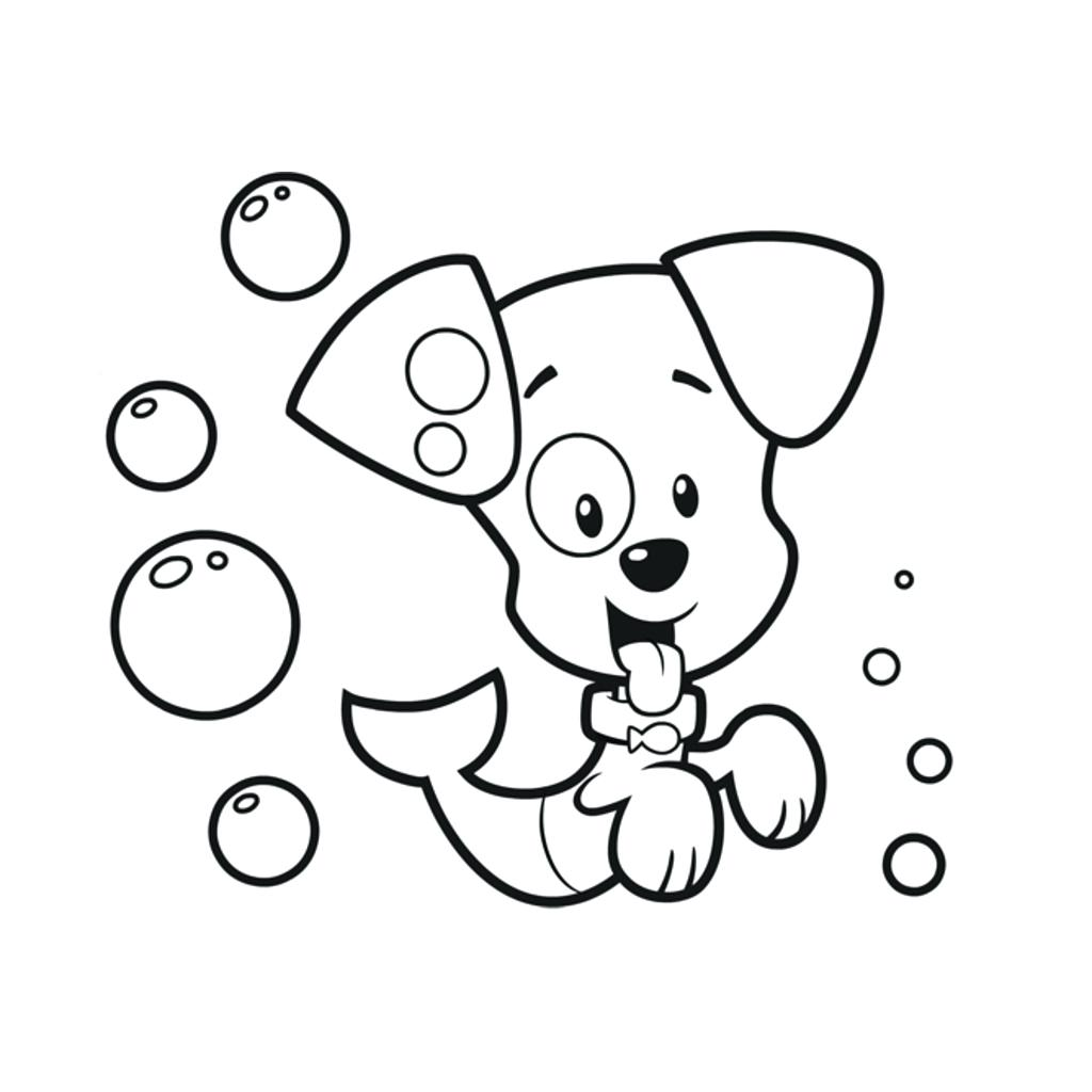1024x1024 Bubble Guppies Coloring Pages 63 As Well As Bubble Guppies
